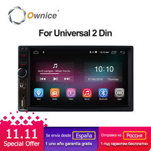 Ownice 2GB android 8.1 radio Car dvd 2 din BT GPS Navigation wifi Stereo video 7″ 1024*600 Universal in Car Multimedia Player