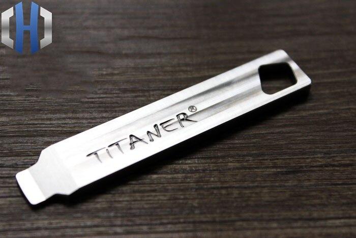 Liga de titânio Alavanca Chave de Fenda EDC ferramenta Multi-