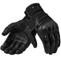 NEW 2019 Revit Dirt 3 Mens Leather Gloves Black Motorbike Gants Moto GP Off Road Racing Gloves Men Size M XXL