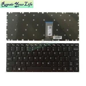 Image 1 - 710 11 США серая Клавиатура для ноутбука Lenovo Yoga 310 11 310 11IAP 710 11 710 11IKB 710 11ISK Клавиатура США новая