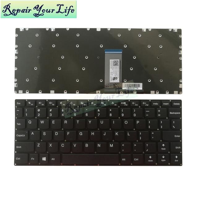 710 11 Mỹ Màu Xám Bàn Phím Laptop Cho Lenovo Yoga 310 11 310 11IAP 710 11 710 11IKB 710 11ISK Bàn Phím hoa Kỳ Mới