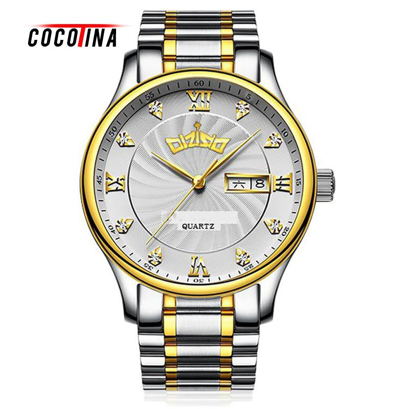 COCOTINA Luxury Male Watch Men Business Gifts Date Stainless Steel Mens Formal Situation Quartz Watches LSB01377