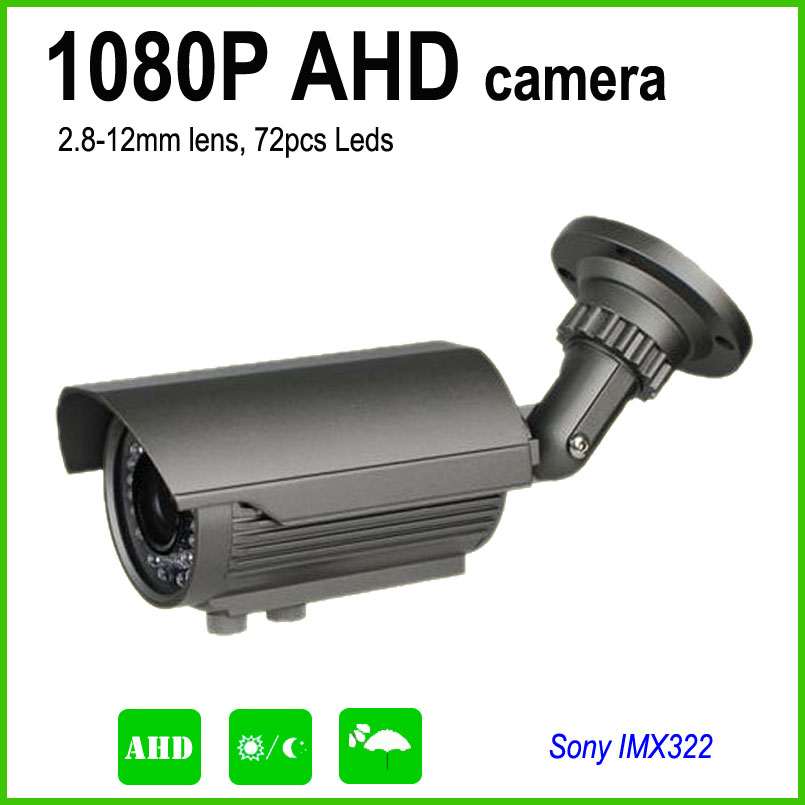 bilder für Full-HD 1080 P AHD vario-objektiv 2,8-12mm mit IR-CUT 2.0MP hochauflösende überwachungskamera