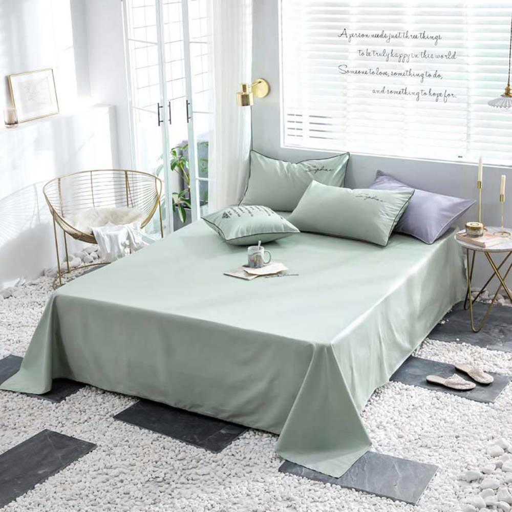 Image 5 - Svetanya egyptian Cotton Bedding Set king queen double size flat fitted Sheet Linens-in Bedding Sets from Home & Garden