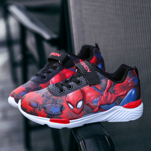 2018 New Spiderman Children Shoes Sneakers for boys Kids Shoes Fashion Girls Casual Sport Running Leather child Shoes for Boys