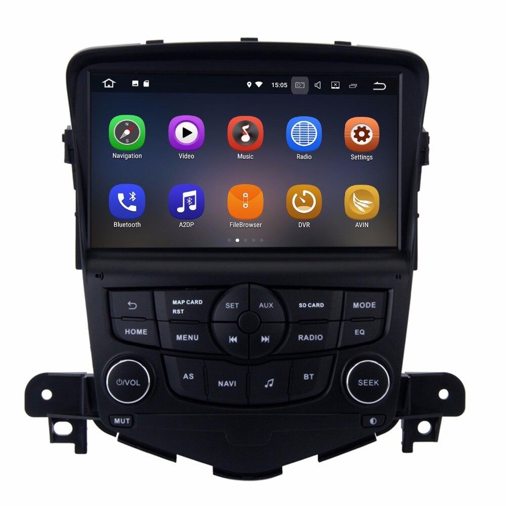 """imágenes para 8 """"Android 7.1 Sistema de Coches Auto Stero Grabador Para Chevrolet Cruze 2008-2011 BT GPS Navi RDS WIFI 4G Hdmi 2G RAM Quad núcleo"""
