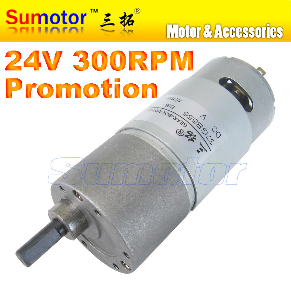 37gb555 dc 12v 24v small electric reduction metal gear box for Electric motor with gear reduction