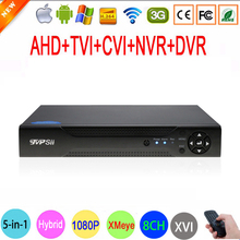 1080P 960P 720P 960H CCTV Camera 1080N 8 Channel 8CH Hybrid 6