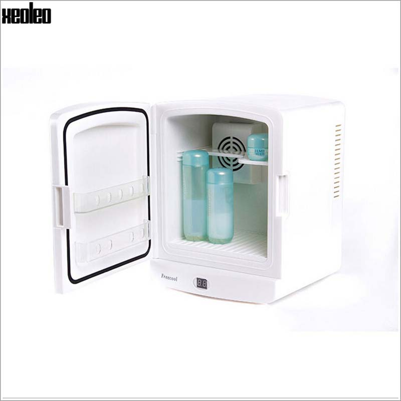 Xeoleo 5L Косметическая Cooler Freecool для косметической автомобильный холодильник вертикальный мини холодильник косметики рефрижераторных Красот...