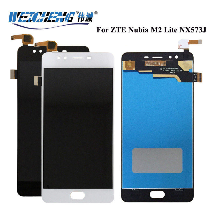 WEICHENG Good quality NX573J ZTE Nubia M2 Lite LCD Display +Touch Screen Assembly For m2 lite lcd +free tools(China)