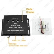 Auto/Car 1 a 4 Salida de Monitor de Vídeo Amplificador de Señal AMP # FD-1320