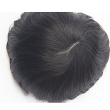 7″*9″Brazilian Virgin Hair Thin Skin Toupee Silicone Base Hair System For Men Free Shipping