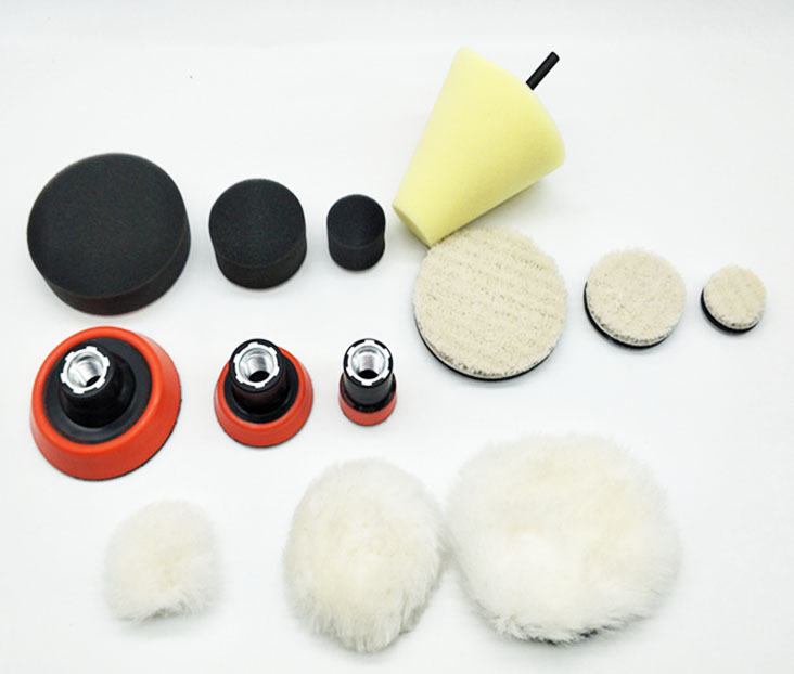 Humor High Quality1,2,3 Inch Fine Grinding Polish Buffing Foam Pad(3foam Pad,3backing Pad,3japanese Wool Pad,3wool Ball,1cone-shape , We Have Won Praise From Customers