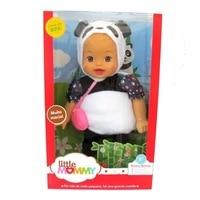 38cm little panda baby Little Mommy baby doll Fragrant Boneca doll toy figure toy