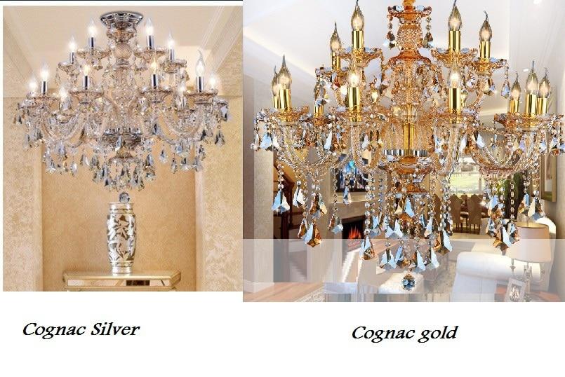 Modern Crystal Chandelier Living room lustres de cristal Decoración - Iluminación interior - foto 3