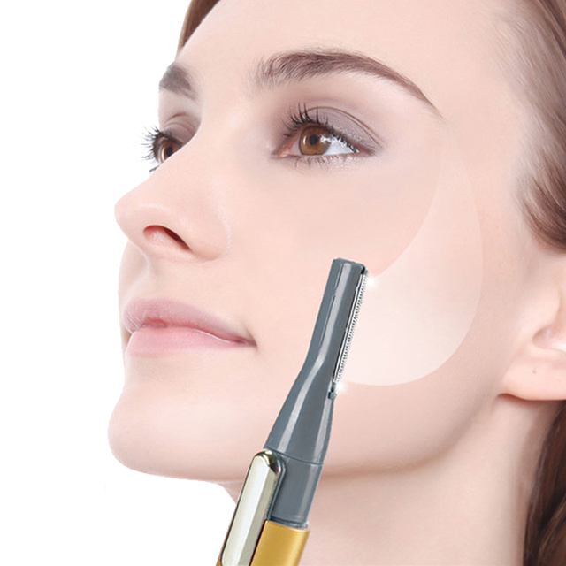 Portable Electric Face Eyebrow Trimmer Hair Body Blade Razor Shaver Remover Trimmer Hair Remover Cutter Tool