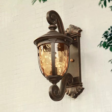HAWBOIRRY LED American country style simple modern waterproof rust-proof European retro energy-saving outdoor wall lamp