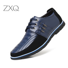Plus Size 38-48 Leather Casual Shoes Men High Quality Leather Men Casual Shoes Autumn Leather Shoes For Men Flat Shoes new leather shoes men casual high quality black dress shoes autumn winter fashion shoes for men zapatillas hombre plus size38 48