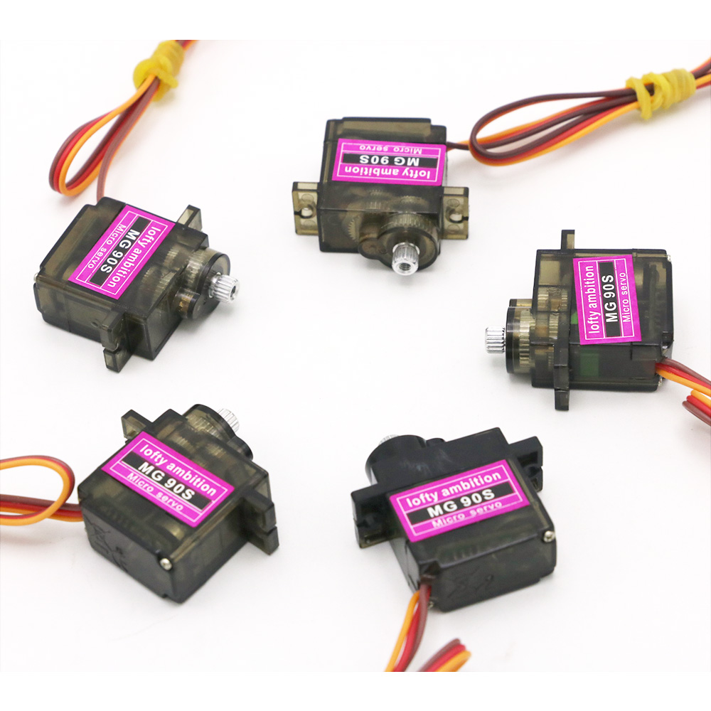 Image 5 - 5/10/20/50/100 pcs/lot Mitoot MG90S Metal gear Digital 9g Servo For Rc Helicopter Plane Boat Car MG90 for Arduino Wholesale-in Parts & Accessories from Toys & Hobbies