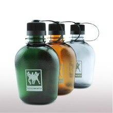 Army Kettle Outdoor Leisure Plastic Water Bottle Vasos De Plastico Food Flask Sport Drinking Water Bottle Gourde En Plastique
