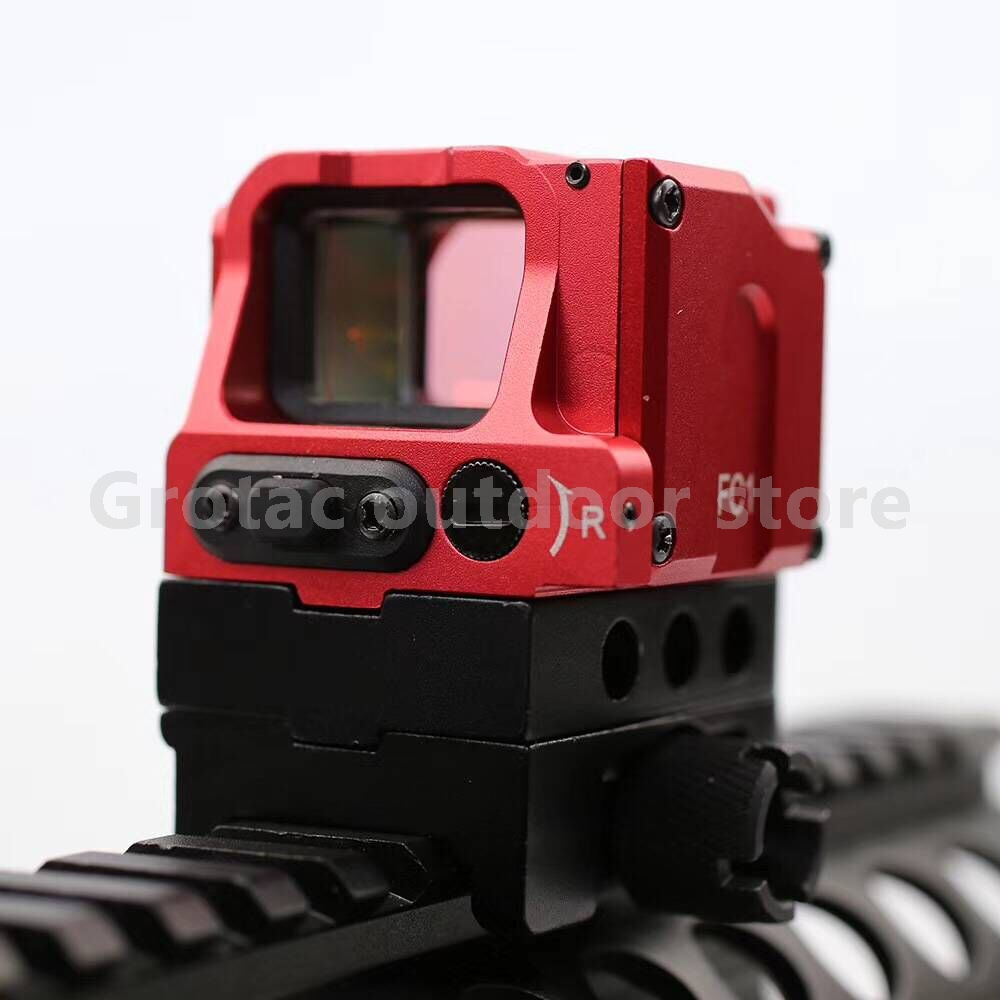 OPTICS Tactical Optical FC1 Red Dot Sight Reflex Sight Holographic Sight for 20mm Rail 556 a sight style holographic red