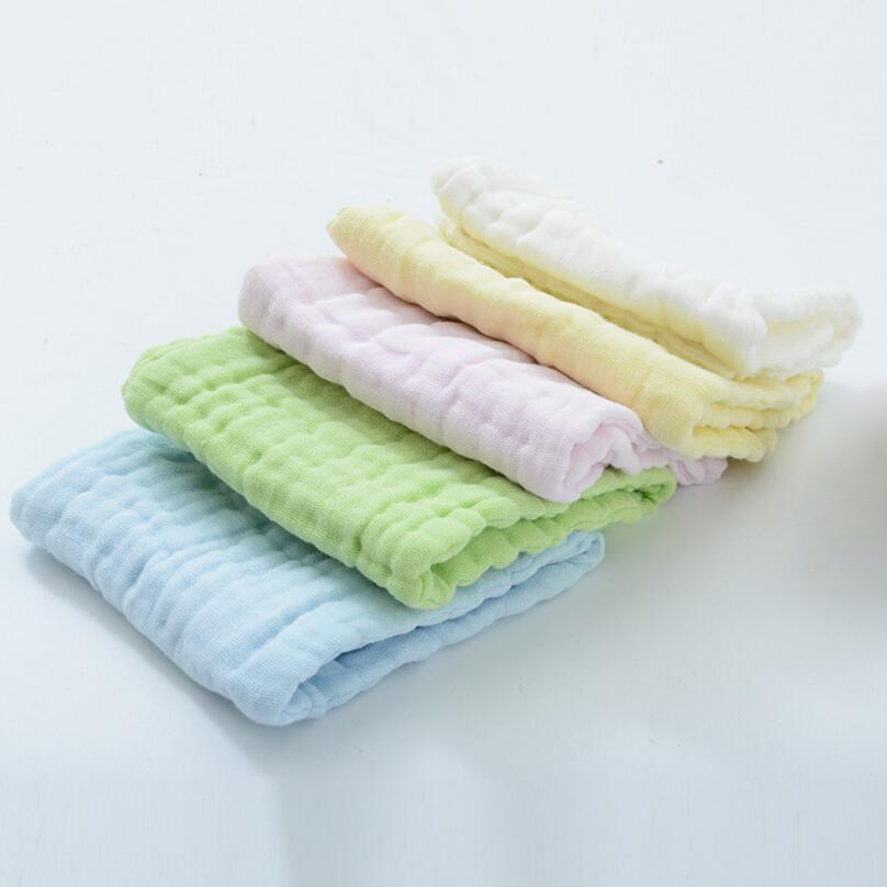 20pcs/lot Adult Cotton Diapers Baby Breathable Cotton Dedicated Diapers Fold Water Cotton Washed Gauze Diapers D20