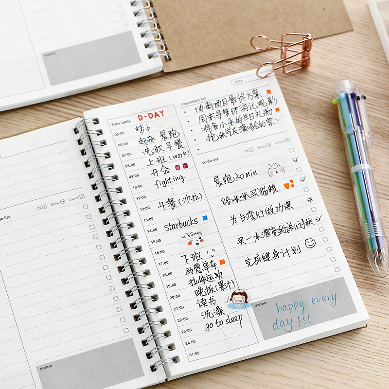 Worldwide Delivery Notebook A5 Diary Planner In Nabara Online