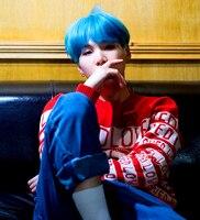 Kpop Home BTS Bangtan Boys SUGA Same Style O Neck Hoodie Sweatershirt Men And Women S