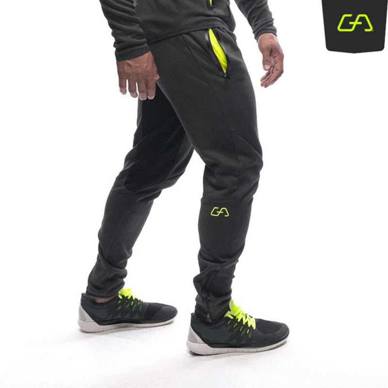 Autumn Winter Men Trousers Casual Sweatpants Male Gyms Fitness Bodybuilding Workout Solid Warm Sportswear Brand Pencil Pants