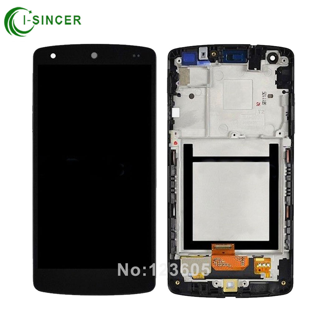 For lg google nexus 5 d820 D821 LCD Display Touch Screen Digitizer Assembly with Frame Bezel free shipping for lg google nexus 5 d820 d821 lcd with touch screen digitizer frame assembly free shipping