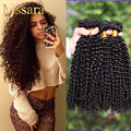 7A Brazilian Curly Hair  Brazilian Virgin Human Hair Weave 4 Bundles Jerry Curl Virgin Hair Brazilian Kinky Curly Virgin Hair