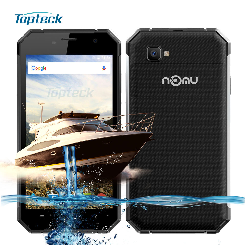 "NOMU S30 IP68 Waterproof Shockproof 4G NFC 5000mAh OTG MTK6755 Octa Core 2.0GHz 5.5"" FHD Cellphone 4GB + 64GB 13MP Mobile Phone"