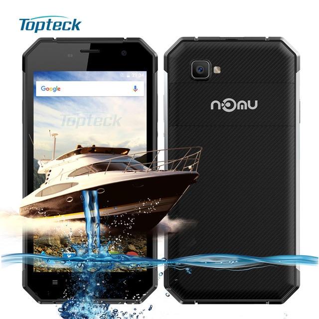 "NOMU S30 IP68 Waterproof Shockproof 4G NFC 5000mAh OTG MTK6755 Octa Core 2.0GHz 5.5"" FHD Cellphone 4GB + 64GB 13MP Mobile Phone"