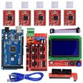 Наборы 3D принтеров RAMPS 1 4 Mega2560 12864 ЖК-контроллер A4988 для Reprap
