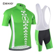 BXIO Brand Short Sleeve Cycling Set Ropa Ciclismo Pro Summer Bicycle Jersey Breathable Mountain Bike Clothing 2018 Maillot 155