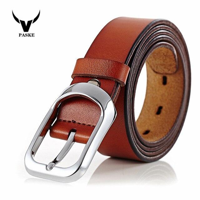 100% piel de vaca cinturones de cuero genuino para los hombres famosa marca de La Correa masculino pin hebilla de la vendimia jeans vaquero Cinto masculino hombres de la correa W5