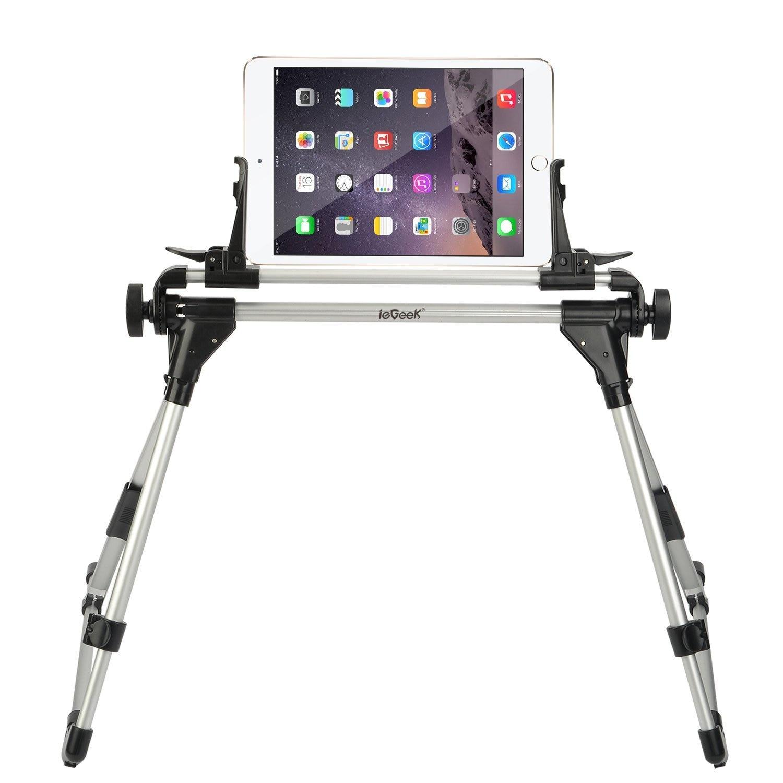 2017 Tablet Mount Houder Vloer Bureau Slaapbank Stand Voor Ipad Pro 10.5 Mini Sumsung Iphone 6 Verstelbare Draagbare Doorwaadbare Luie Man Zeer EfficiëNt Bij Het Behouden Van Warmte
