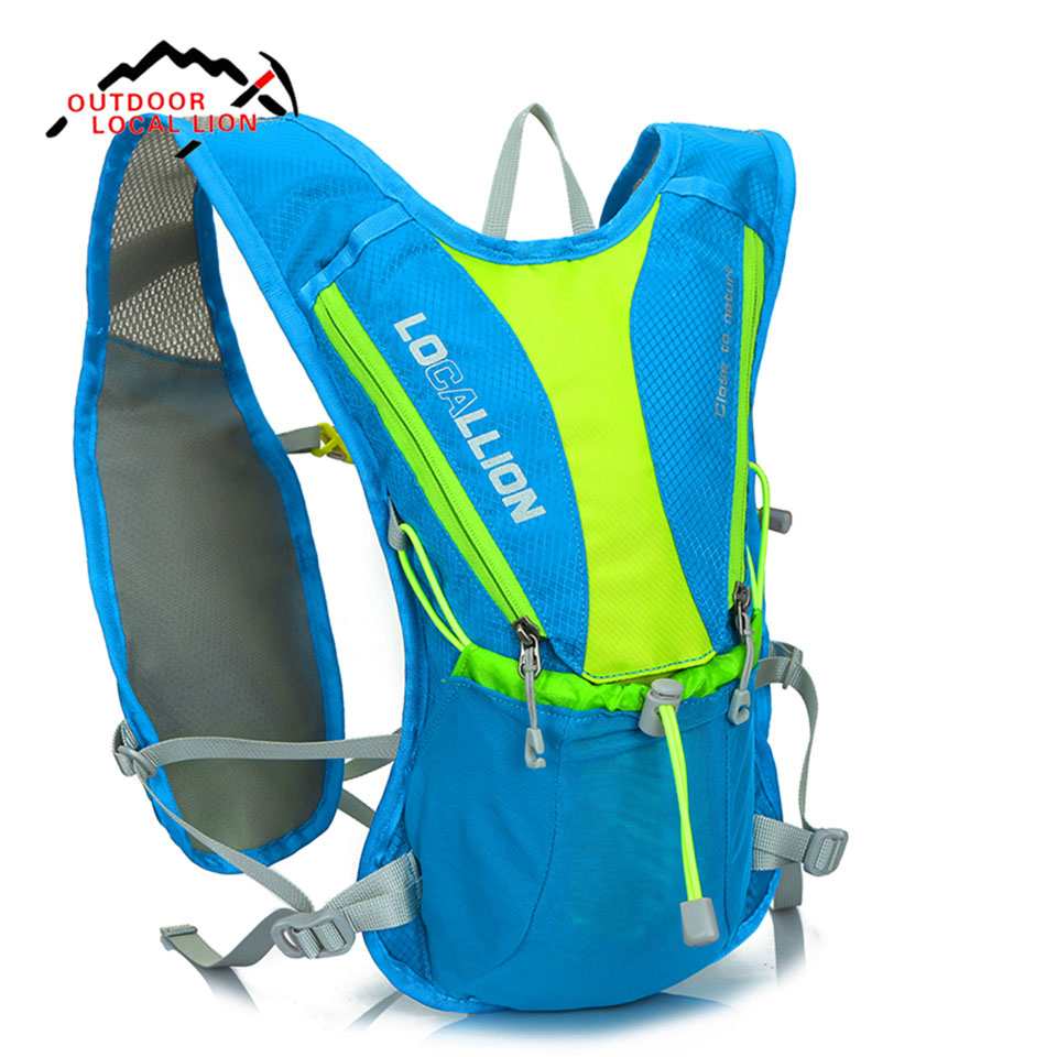 LOCAL LION 5L Outdoor Sport Bag Backpack Hiking Riding Climbing Bags Reflective Multifunction Bike Cycling Backpack