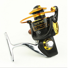 Fishing reel 13 Ball Bearings 5.5:1 Gear Ratio Metal main body foot Super strong Spinning reel for fishing Rod Combo