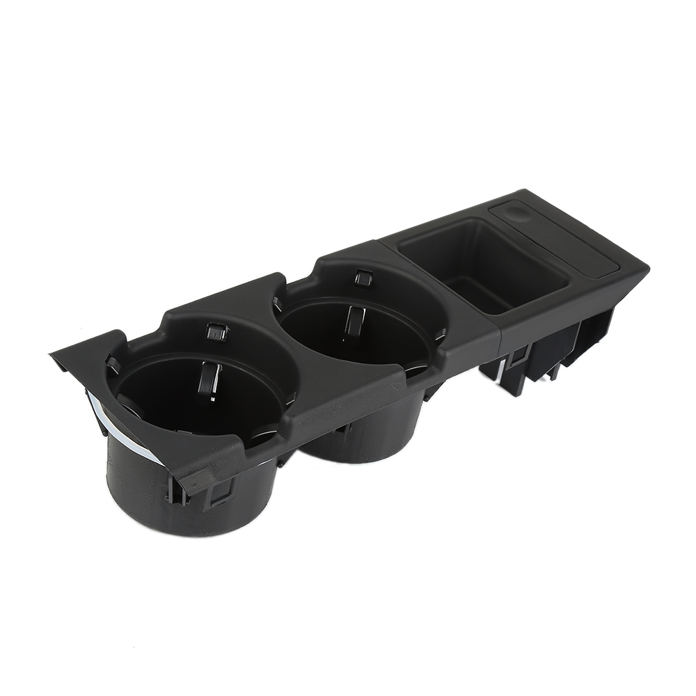 New Brand Car Cup Holder Plastic for BMW E46 1998 2004 Front Center Console Drink Cup Holder W/ Coin Box|Stowing Tidying| |  - title=