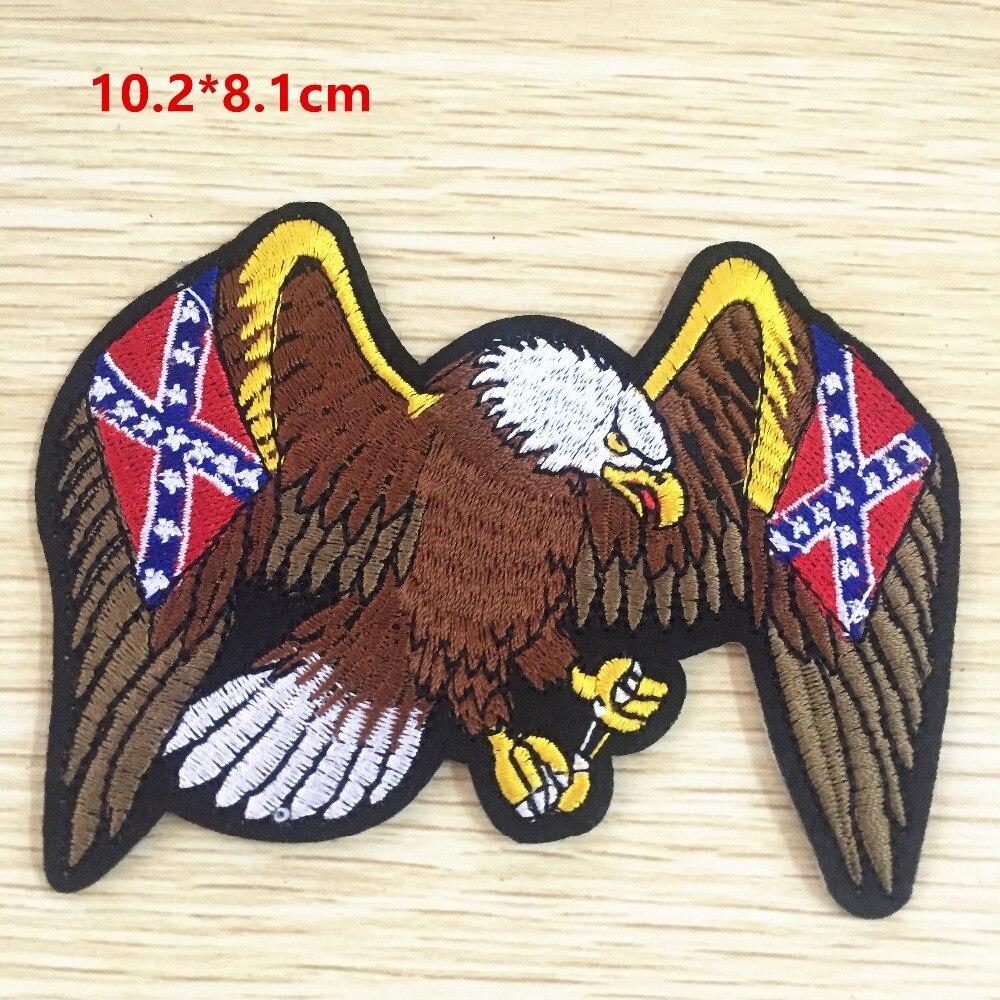 ▻Hierro-En Parches águila 5 unids Bordado halcón volando remiendo ...
