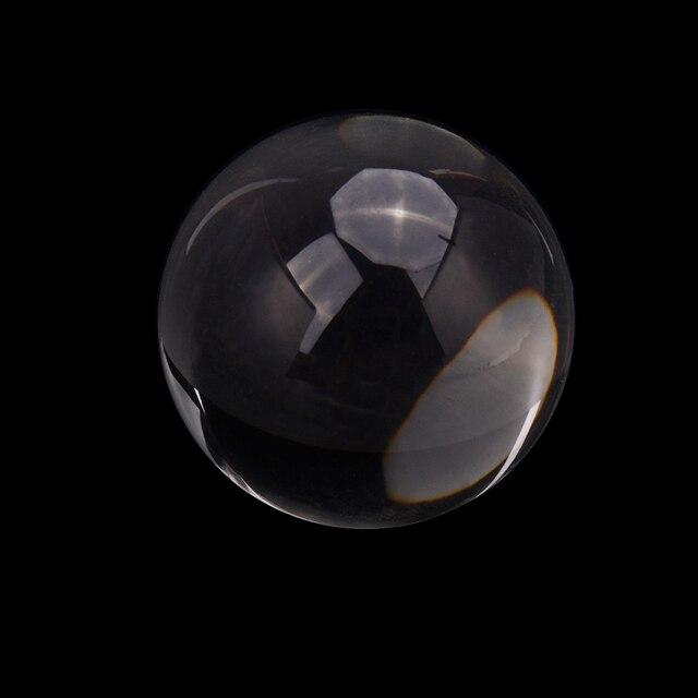 Boule de cristal magique 80mm FengShui | Sphère de verre de photographie pour la décoration de la maison, mode
