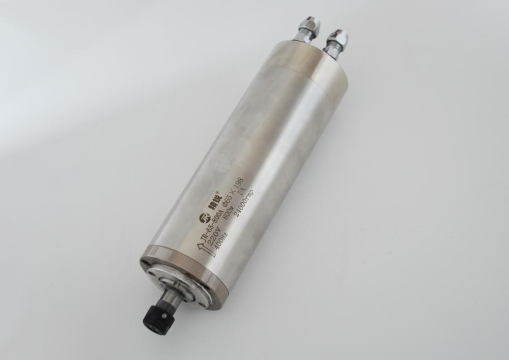 Moteur de broche refroidi à l'eau pour le travail du bois CNC
