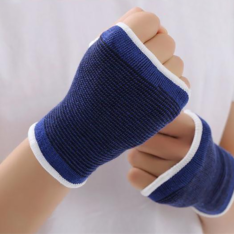 Office & School Supplies 2018 New Arrival Working Gloves Elastic Terylene Latex Material Basketball Volleyball Palm Hand Bandage Hot Sales Moderate Price
