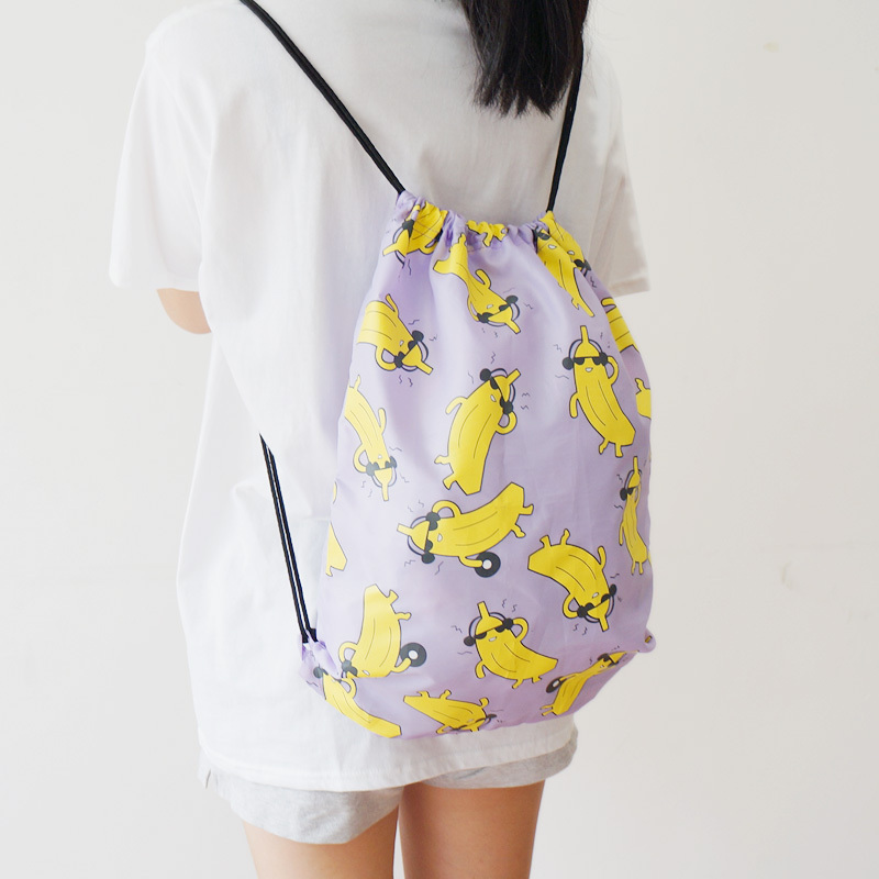 U PICK Original 100% Polyester Fruit Pattern Women Drawstring ...