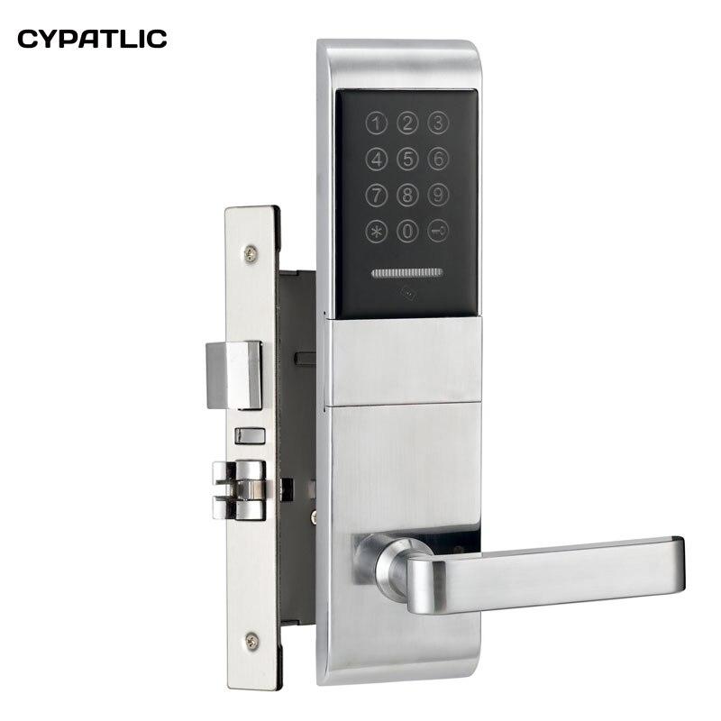 Serrure de porte à combinaison d'appartement M1 serrure de porte d'entrée sans clé avec clés mécaniques