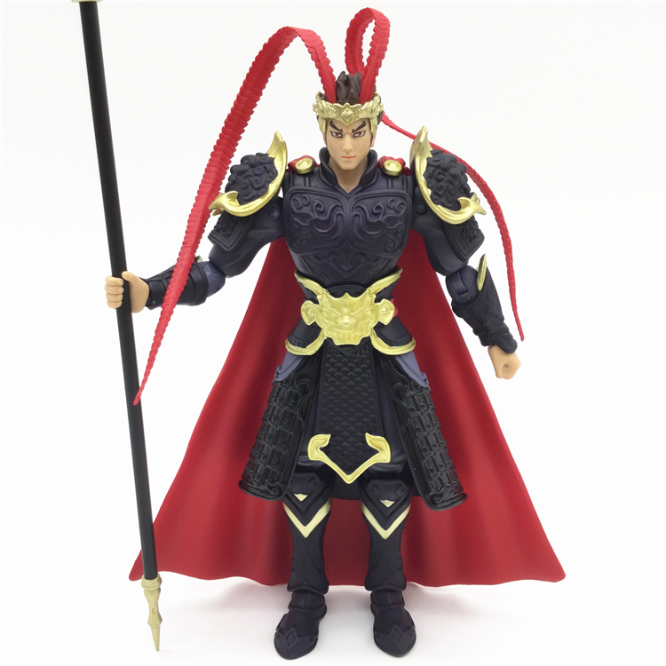 KILLERS OF THE THREE KINGDOMS legends Lv Bu 1:18 super  movable figures NEW BOXED  Model Kids Toys doll falling kingdoms rebel spring