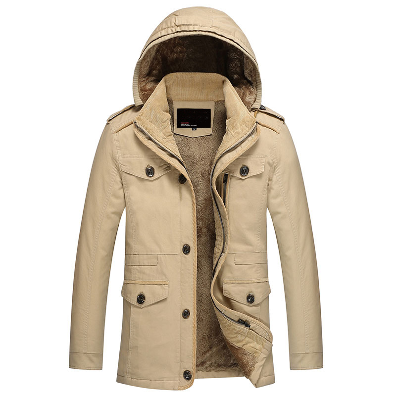 2016 Thick Hoody Jaqueta <font><b>Men</b></font> <font><b>Fashion</b></font> <font><b>Winter</b></font> Jacket Coat Pocket Design <font><b>Hooded</b></font> <font><b>Parka</b></font> <font><b>Mens</b></font> Casual Jackets & Cats Outwear Big M-5XL