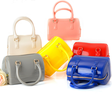 Vivid boston Jelly bag mini bag rubber bag women messenger shoulder bag