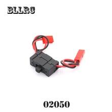 RC car HSP 1/10 1/8 02050 Rcexl Opto Gas Engine Kill Switch With Futaba Plug Ignition JR universal plug 94122 94102 94106